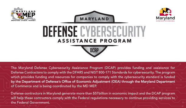 maryland defense cybersecurity