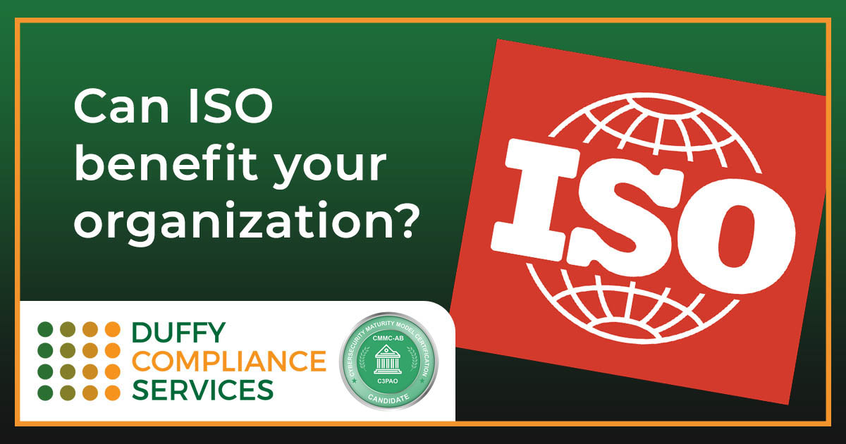 Can ISO benefit your organization?