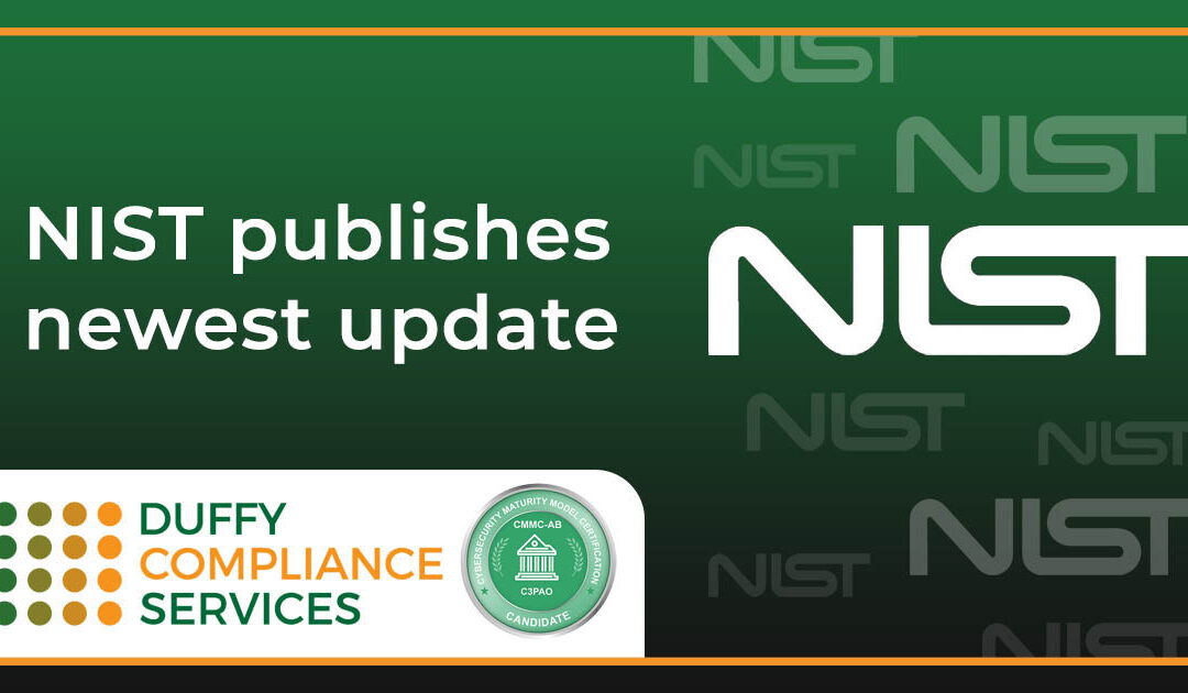 NIST publishes newest update