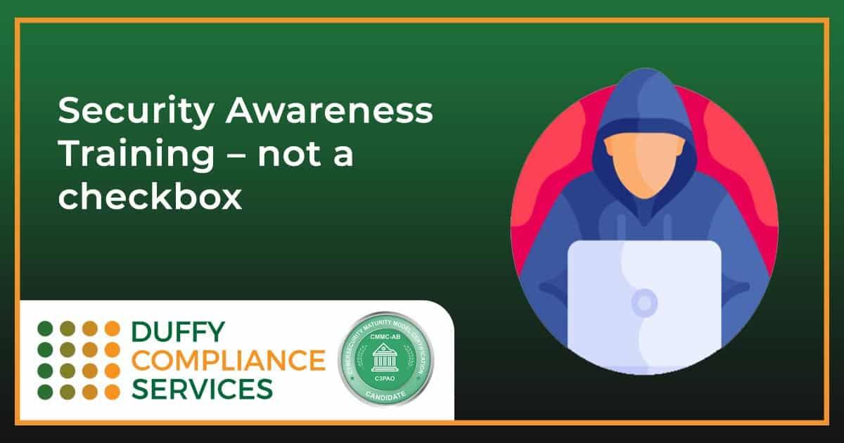 Security Awareness Training - Not a Checkbox